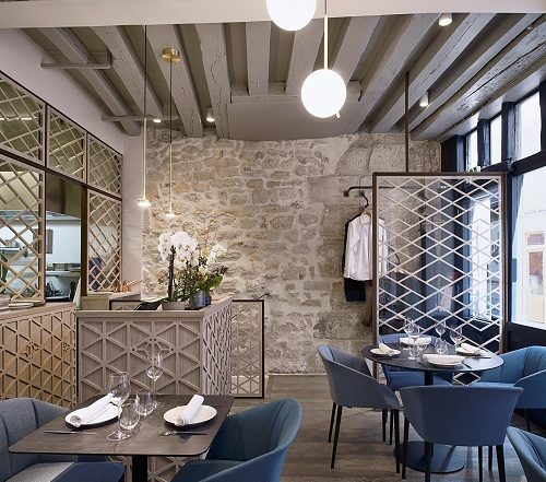Yoshinori is a new gastronomical restaurant in Paris, France.