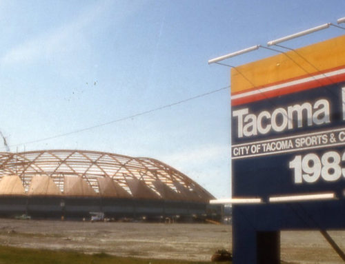 Throwback Thursday: Washington's timber Tacoma Dome