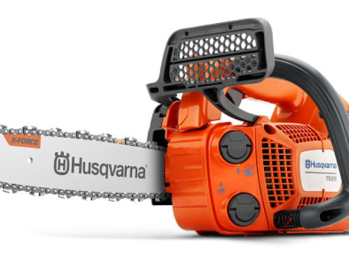 """Working-in-a-tree"" with Husqvarna"