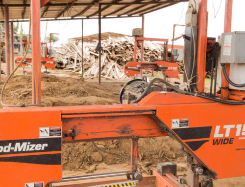 Ivory Coast company grows with Wood-Mizer