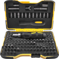 Tork Craft has launched its 101-piece bit drive set KT2573. Image credit: Tork Craft
