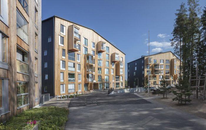 Affordable 8-storey timber block scoops award