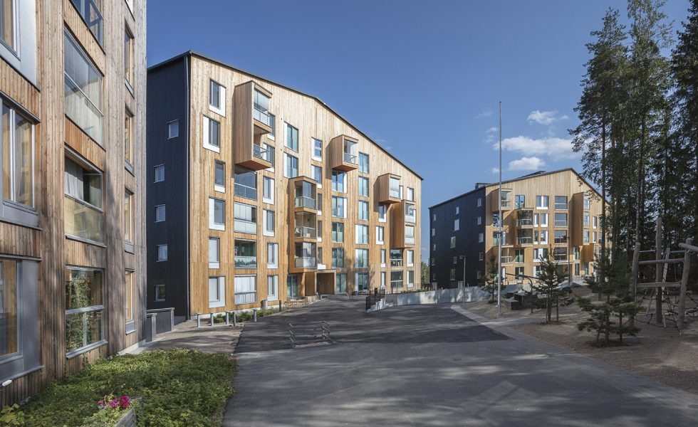 Affordable 8-storey timber block scoops award