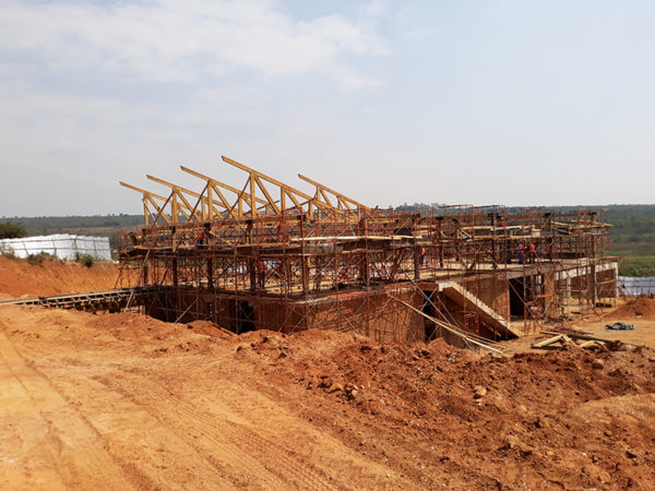 A diversified timber industry can contribute to a more sustainable construction industry in Rwanda. Image credit: MASS Design Group