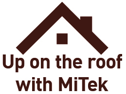 Up on the roof with MiTek