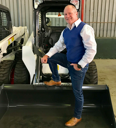 Bobcat Equipment South Africa's national sales manager Brian Rachman. Image credit: Bobcat