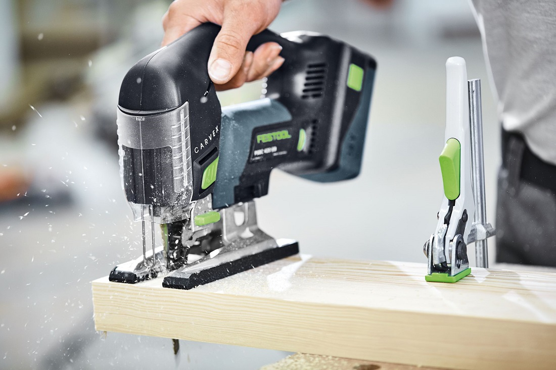 The Festool jigsaw is ideal for sawing wood among other materials. Image credit: Festool