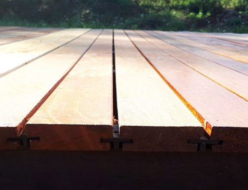 Surface treatment of outdoor timber
