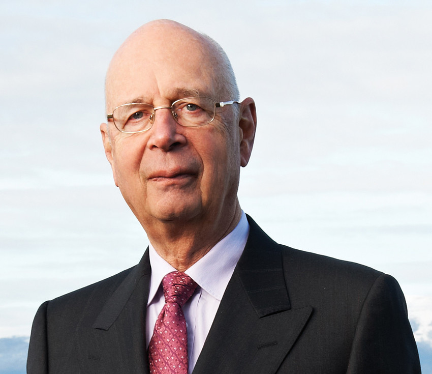 Klaus Schwaub is the founder and executive chairman of the World Economic Forum. Image credit: World Economic Forum