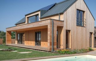 Timber products offer solutions for modern sustainable construction. Image credit: HWZ International