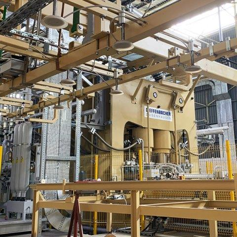 The White River plant processes raw product into particle board and medium-density fibre board. Image credit: Sonae Arauco