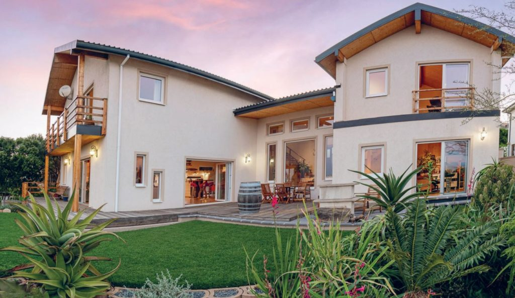 House Pinotage was the first house to be constructed using large scale cross-laminated timber.