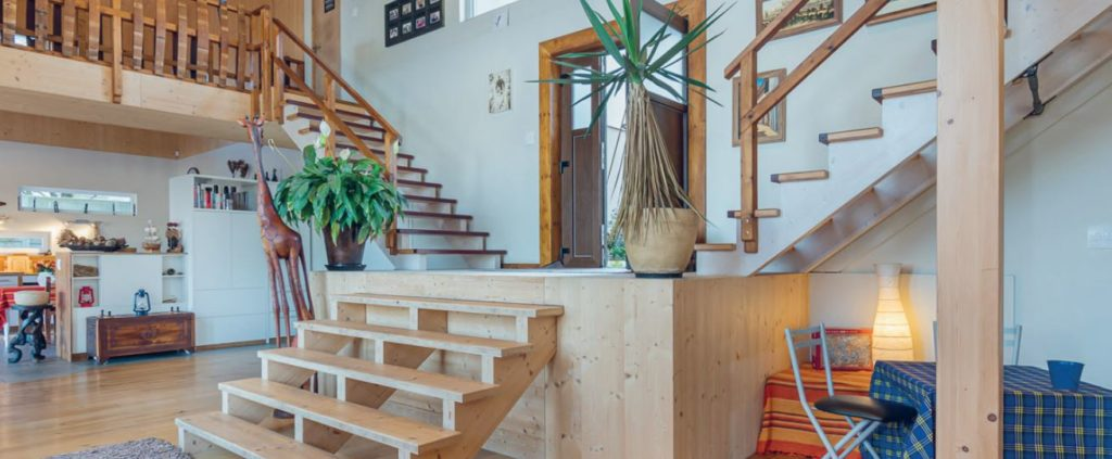 Insulation and noise reduction properties of a timber house add to the comfort of a timber home.