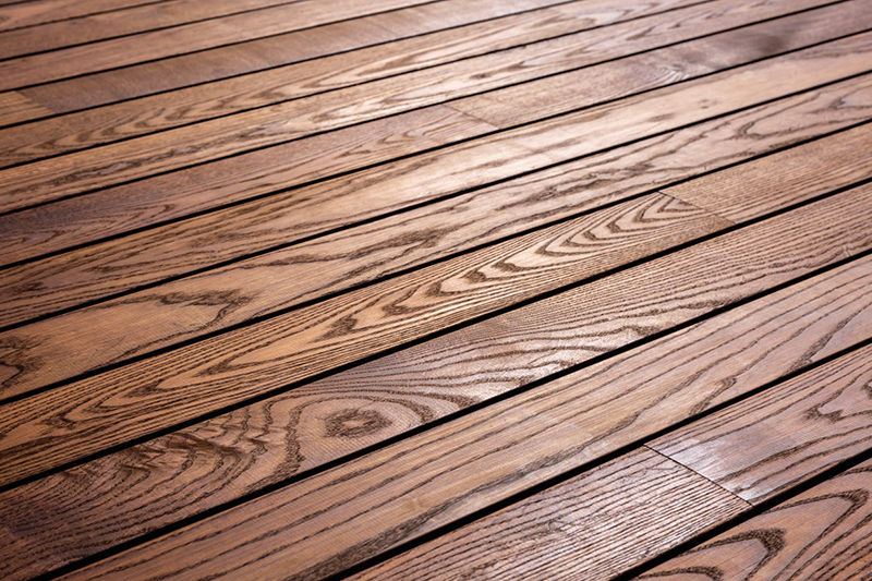 Thermo-treated Ash is a popular choice for decking. Credt: Allan leppikson