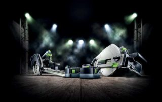 Saws form a major component in the timber industry, and technology by leading manufacturers continues to improve on performance and safety. Image credit: FESTOOL