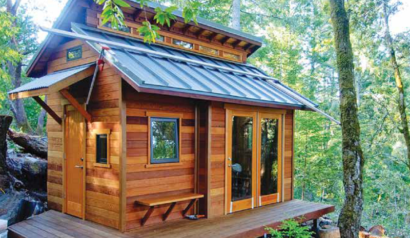 Tiny homes can cater to any income level