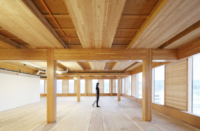 Cross Laminated Timber could be the future concrete. Image credit: archdaily