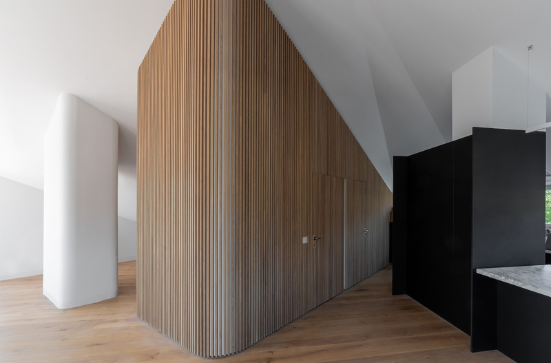 Wood is a central theme in Montalba's work across Switzerland. Image credit: Montalba