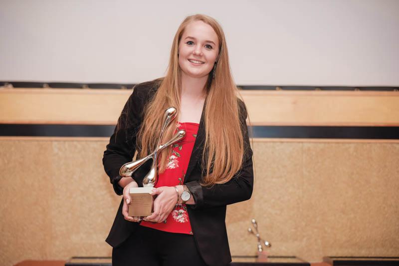 The 2019 competition winner was Sanette de Villiers from Nelson Mandela University in Port Elizabeth.