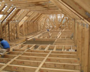 70% of all sawn timber in South Africa is used for roof structures. Image credit: SABuilder