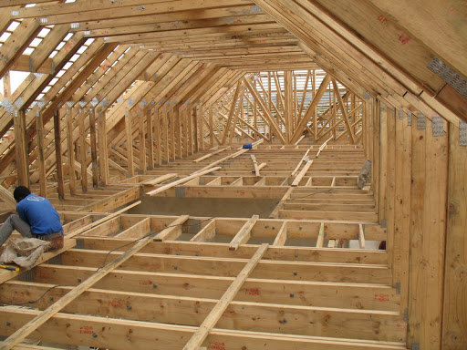 Most wood in SA used for roof trusses