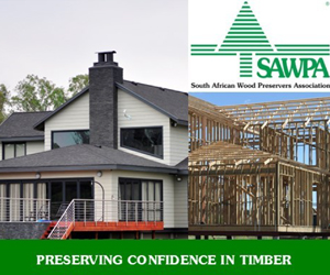 The South African Wood Preservers Association (SAWPA) is a non-profit association formed in 1980, by the South African wood preserving industry, primarily to promote timber treatment and treated timber products. Commercially grown timber in Southern Africa is mainly of the Eucalyptus and Pinus species, both of which are not durable.