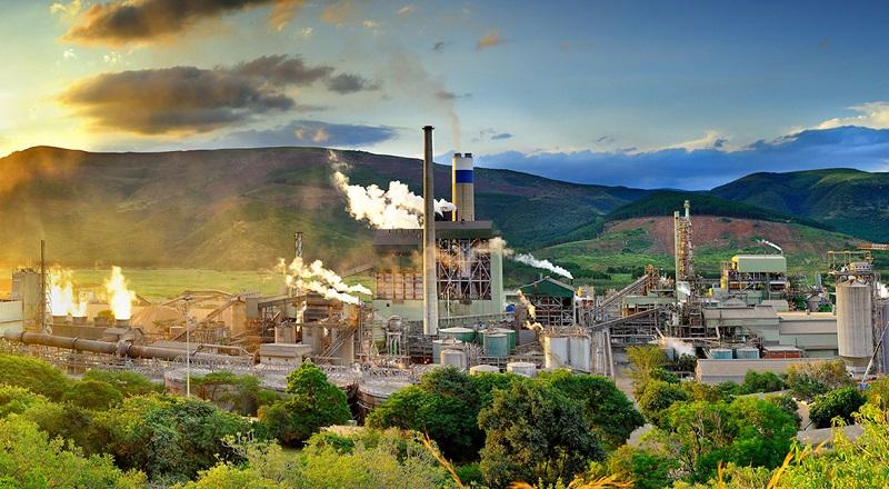 Sappi's Ngodwana Mill. Photo by Sappi