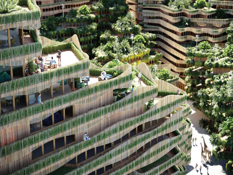 GG-loop brings biophilic architecture to urban development