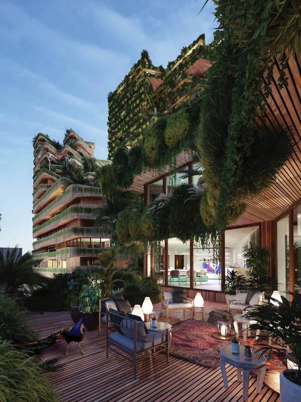 Bringing nature and urban living closer together. Image credit: GG-loop