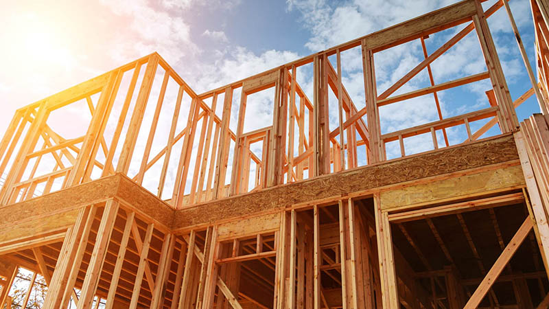 Timber is a sustainable building material. Image credit: FSC