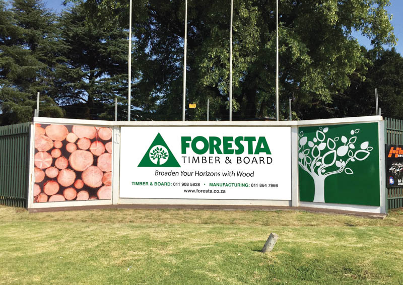 Foresta Timber and Board stock a range of products. Photo by Foresta