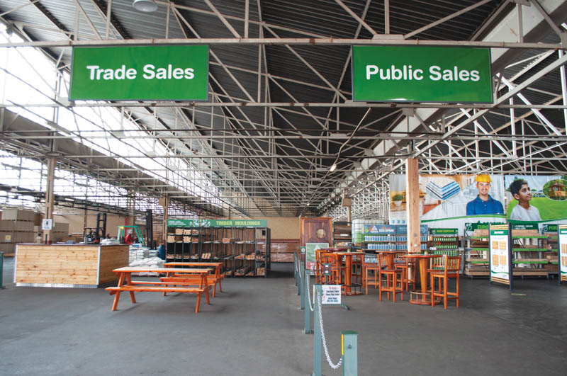 The warehouse in Alrode, Alberton has undergone a total refurbishment. Photo by Foresta