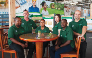 The team at Foresta Timber and Board. Photo by Foresta