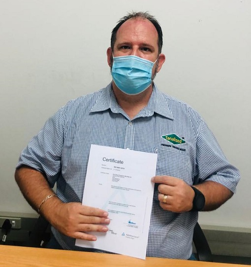 JJ du Plessis, business manager at Lonza Wood Protection South Africa. Photo by Lonza