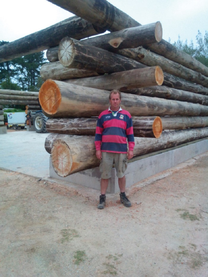Log home building is not rocket science – it is simply stacking timber