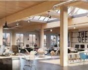Timber can play an important role in the wellbeing of workers.Photo by Woodworks.com