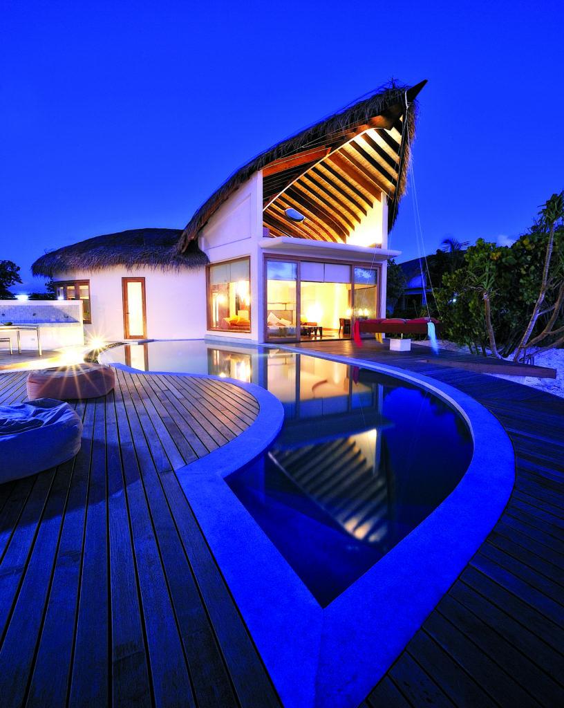 Viceroy Maldives. Image: Malaysian Timbers